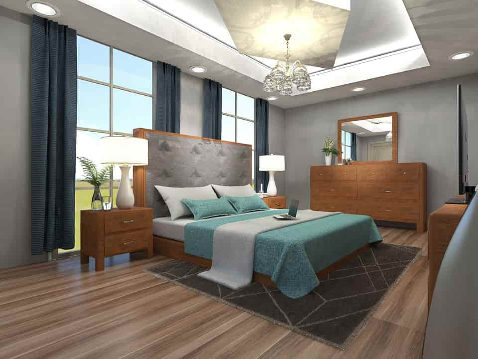 hálószoba lakberendezés