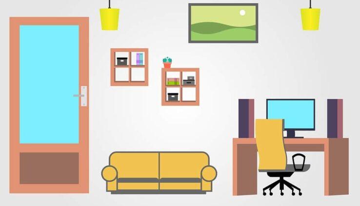 nappali lakberendezés