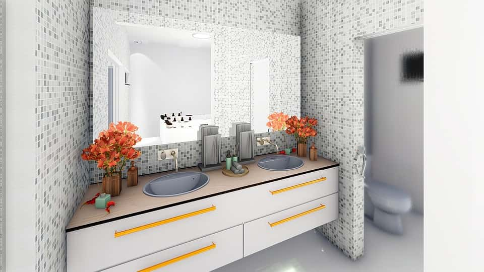 fürdőszoba lakberendezés
